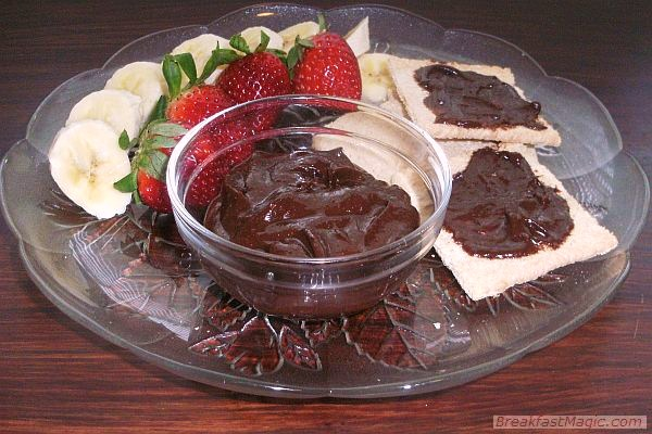 chocolate-almond-dip