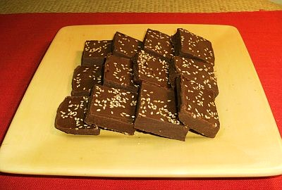 Sesame Fudge